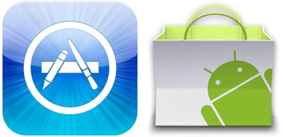 app stores