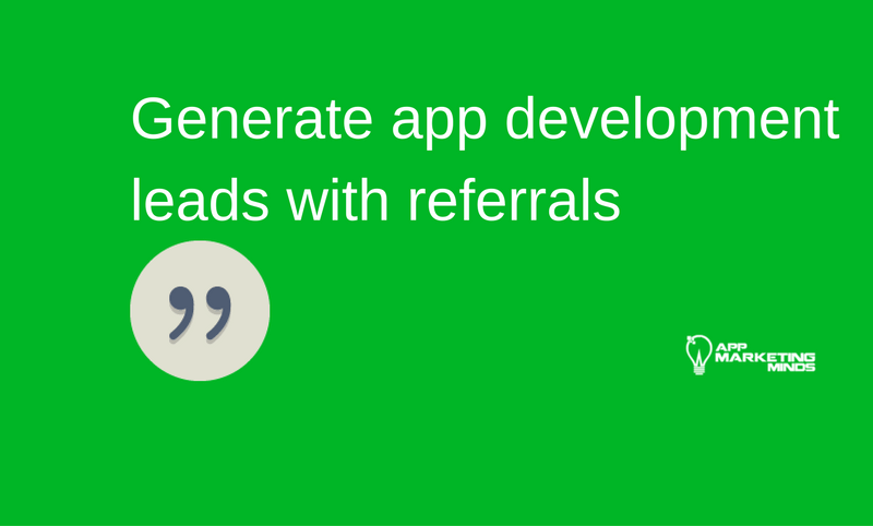 how to get app development leads
