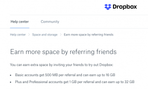 Selling SaaS How to Sell SaaS Image Example Dropbox